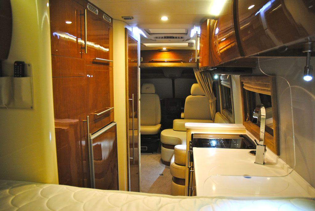 Mercedes sprinter luxury conversion google search for Mercedes benz sprinter luxury conversion vans