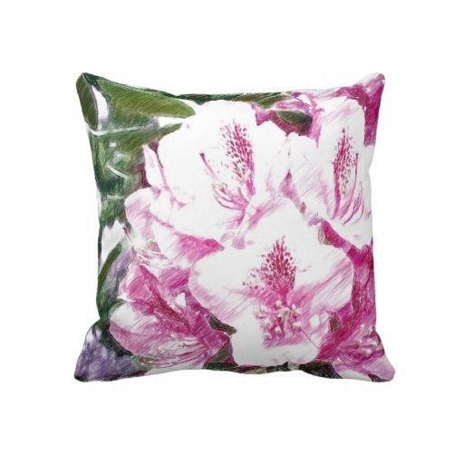 Spring Flowers Pillow