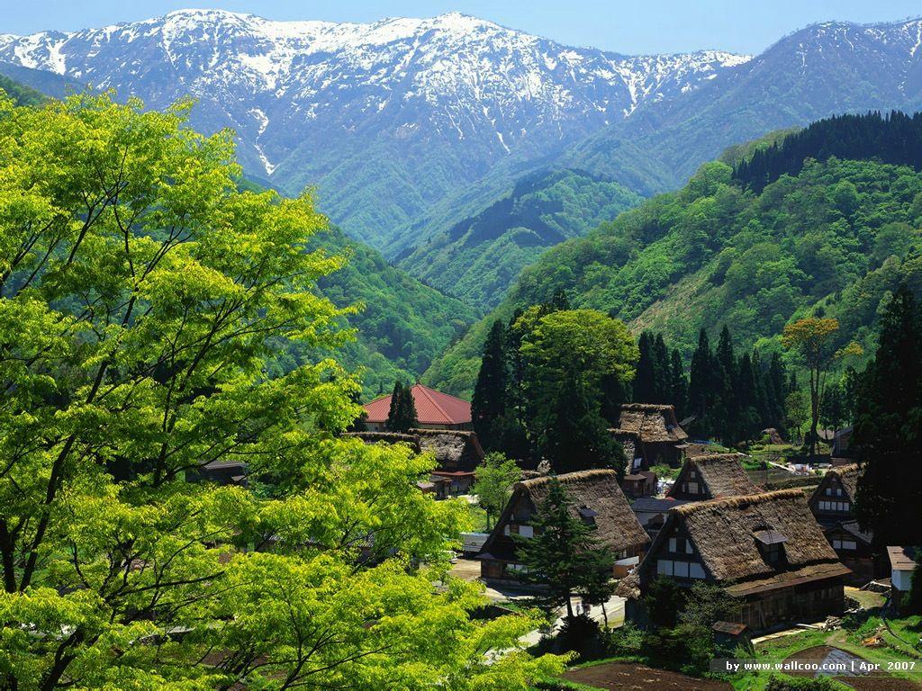 Japanese Landscape Wallpapers - Wallpaper Cave  |Beautiful Japanese Landscapes