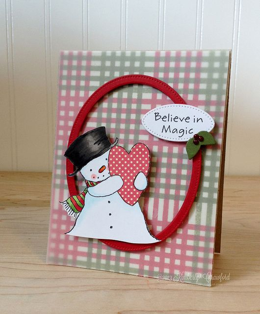 MFT Nov Preview happy heart snowman by Kimberly Crawford by kimberlykscrawford, via Flickr