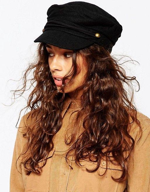 056d6fdc841 DESIGN wool mix baker boy cap
