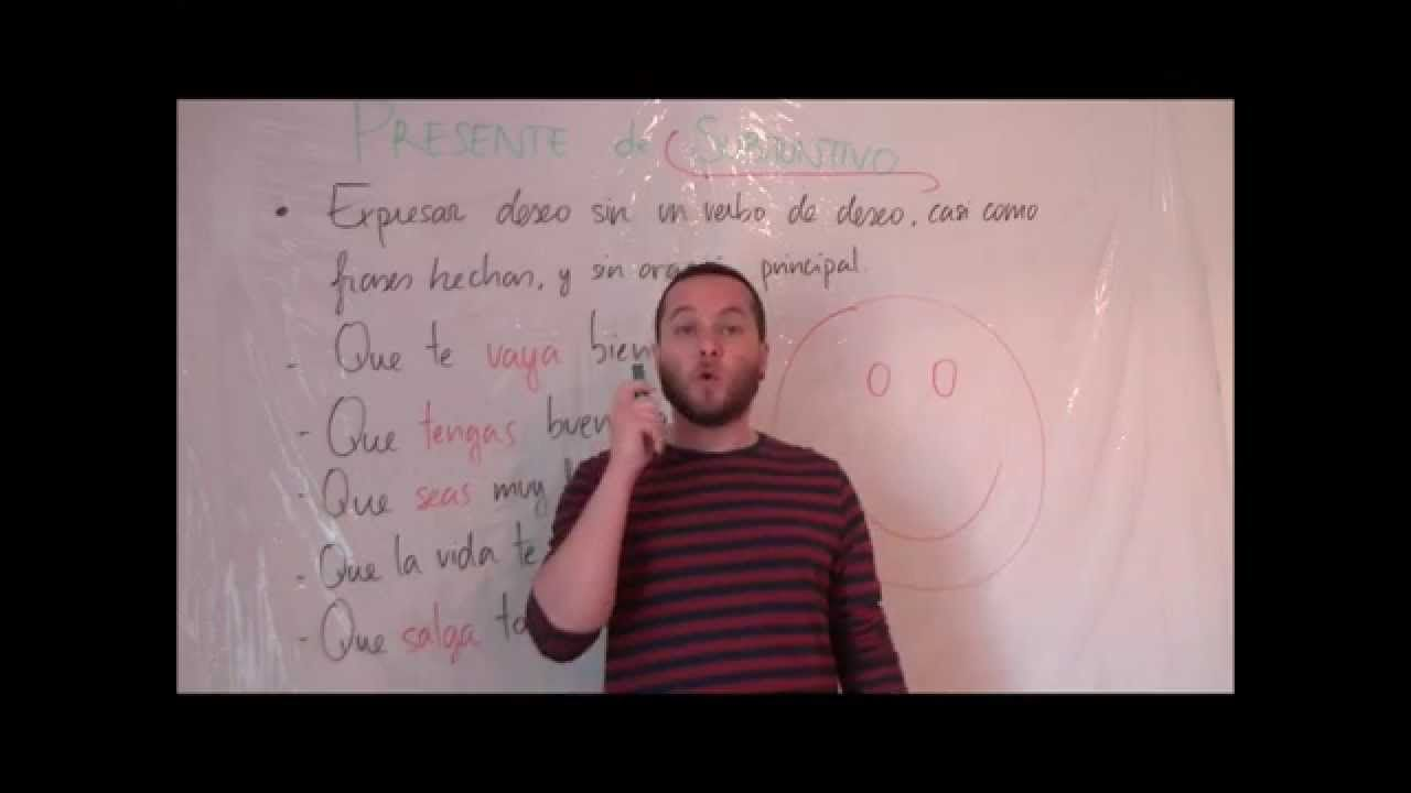 Presente de Subjuntivo para desear sin un verbo desear