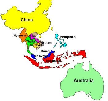 Asia Map With Countries Labeled Google Search A BIT OF - Asia map countries