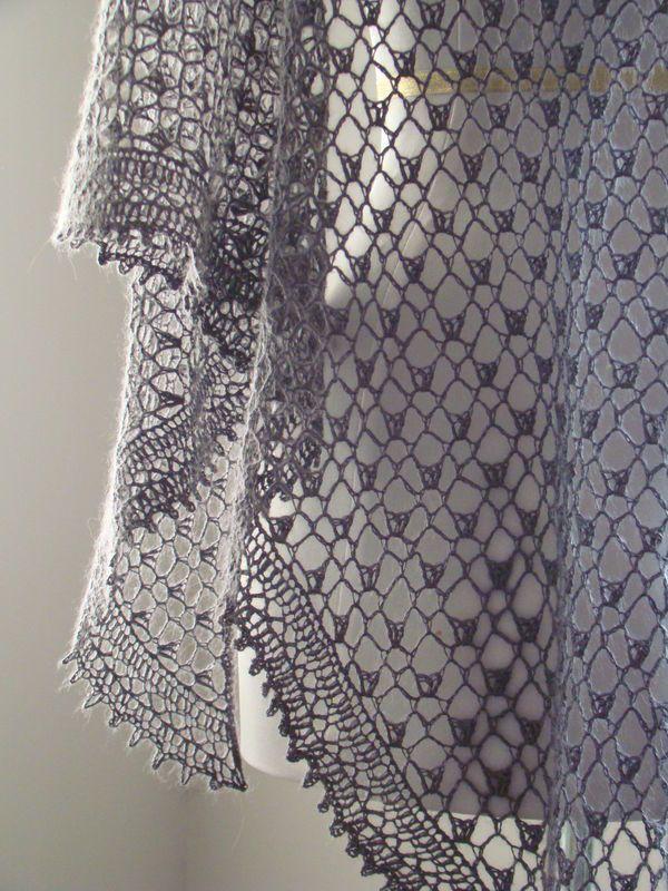 crochet shawl | WRAPS | Pinterest | Chal, Gris y Tejido