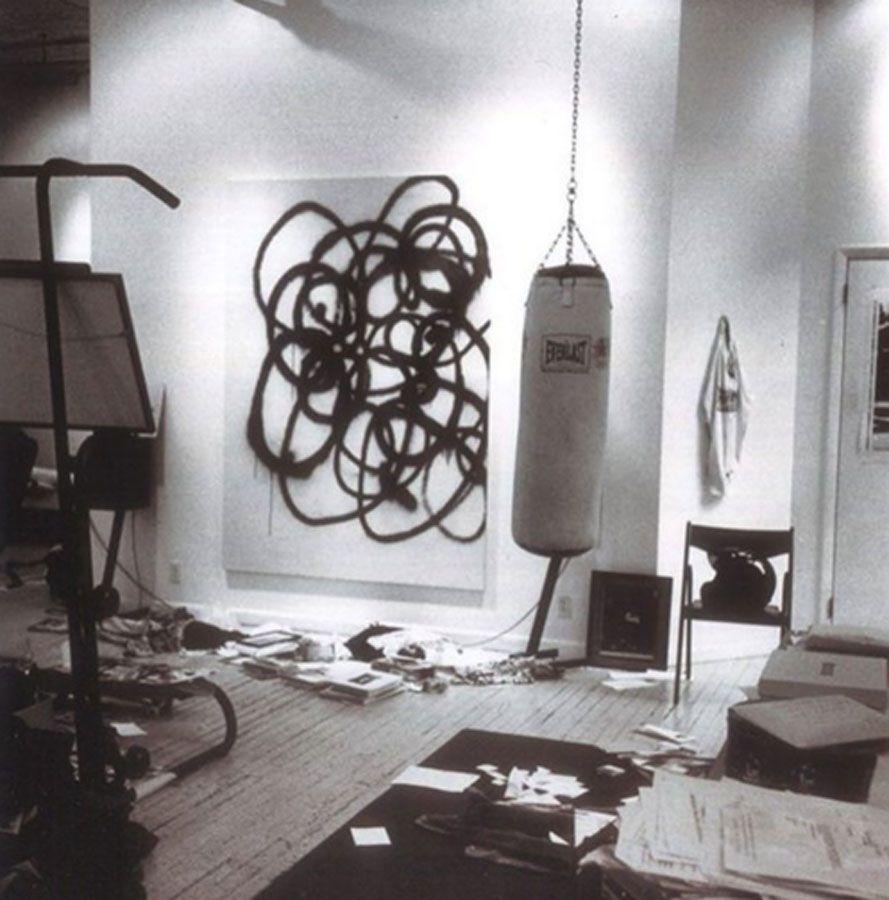 Ultimate Art Studio christopher wool @woolofficial christopher wool studio