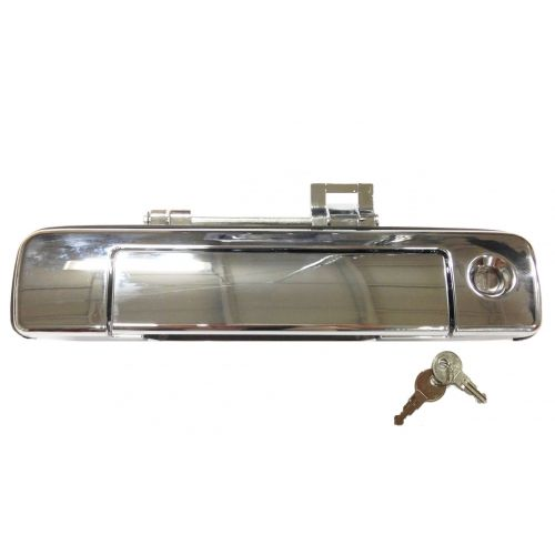 Canyon PL1700C Pop /& Lock Chrome Full Tailgate Handle Replacement Fits Colorado