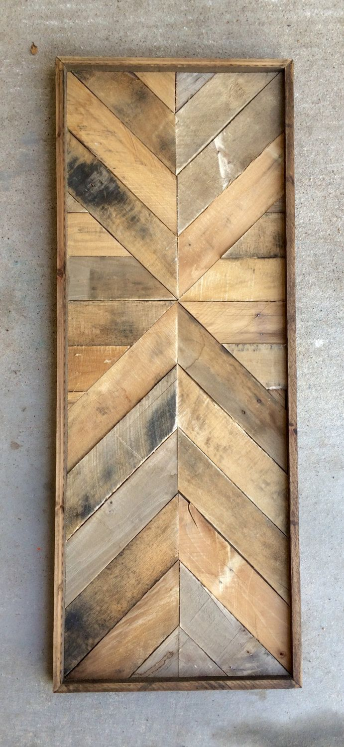 Pin by Tammy Bues on Foyer | Pinterest | Reclaimed wood wall art ...