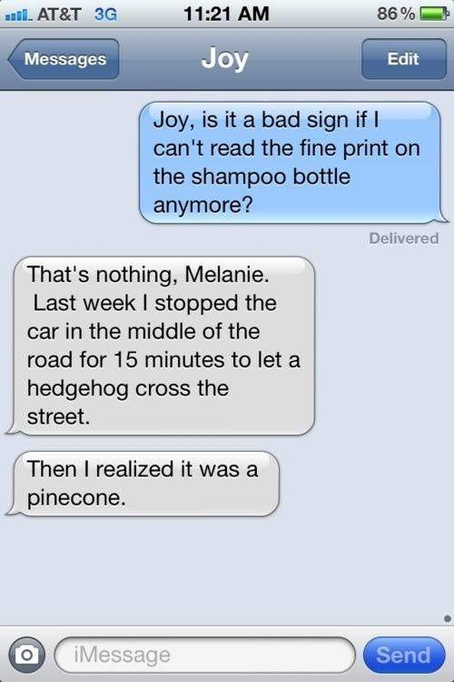 26 Hilarious Texts Between Spouses -
