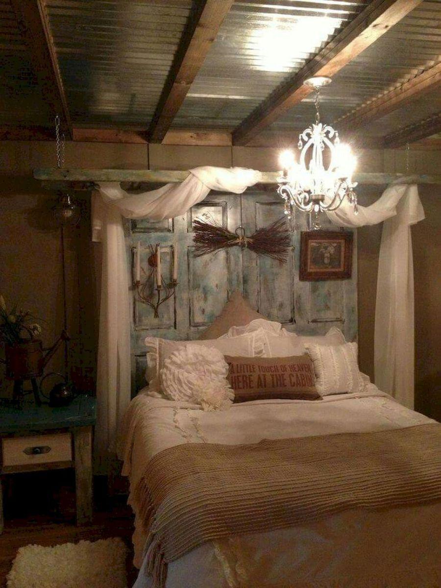 Rustic farmhouse style master bedroom ideas ranch indoor