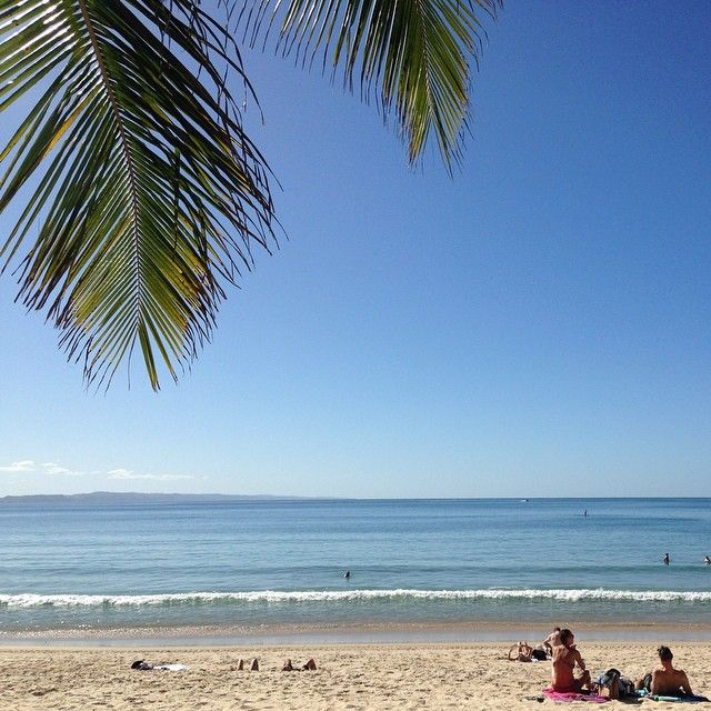 Post-card perfect Noosa Main Beach!