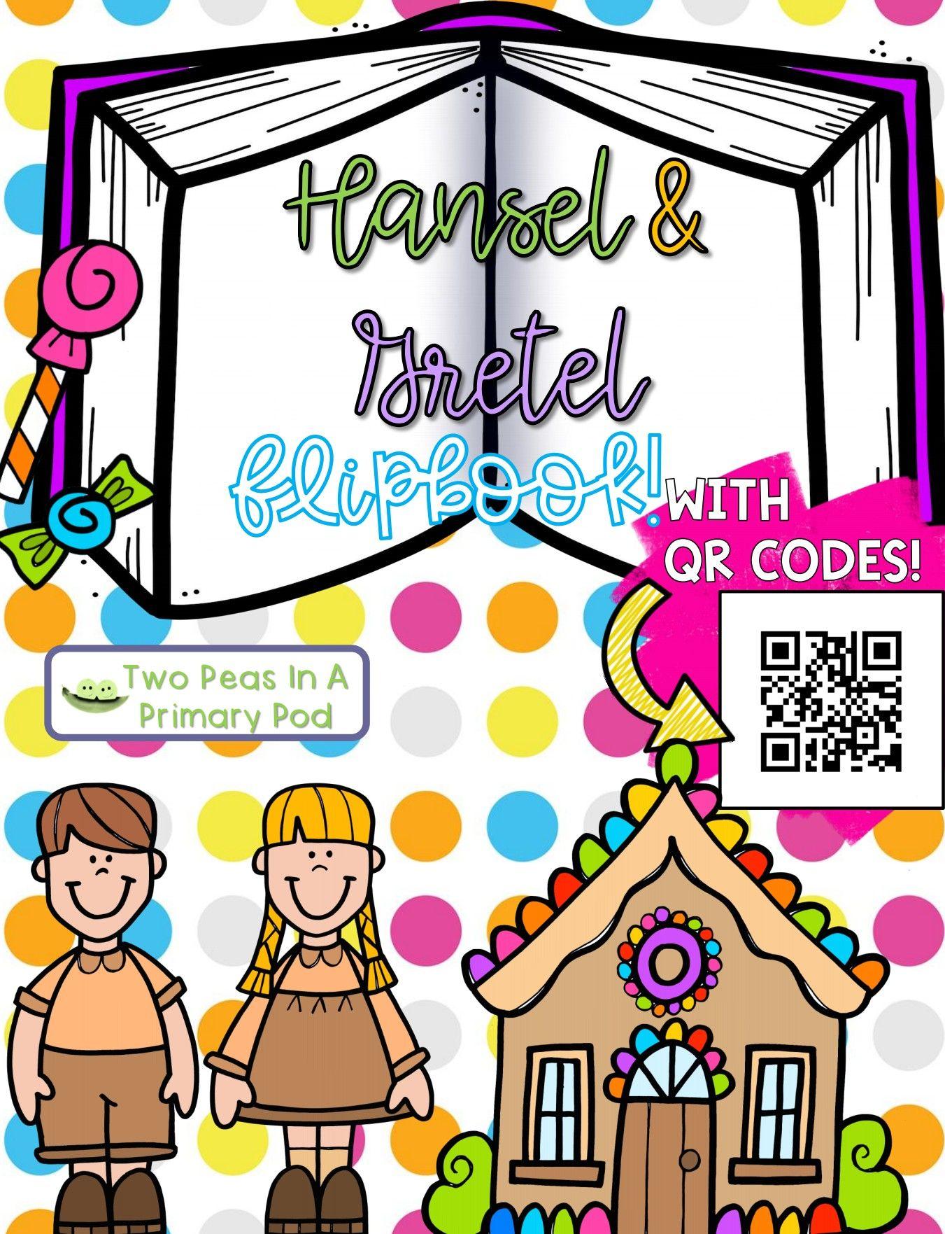 Hansel And Gretel Fairy Tale Flipbooks