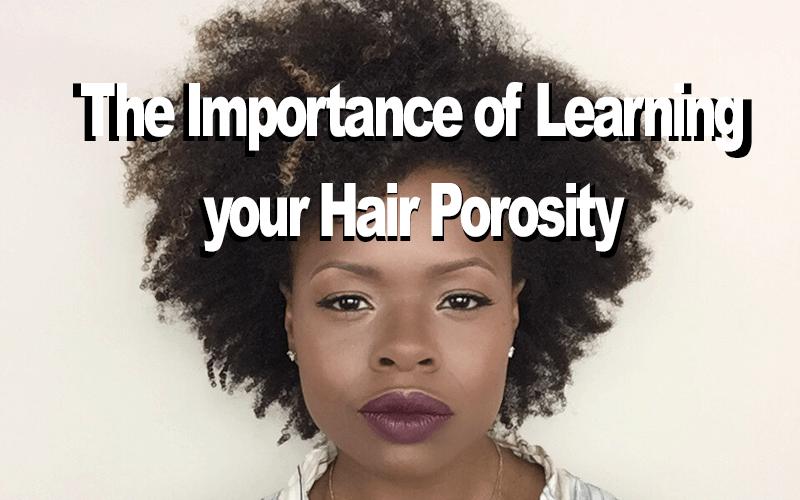Hair porosity for natural hair