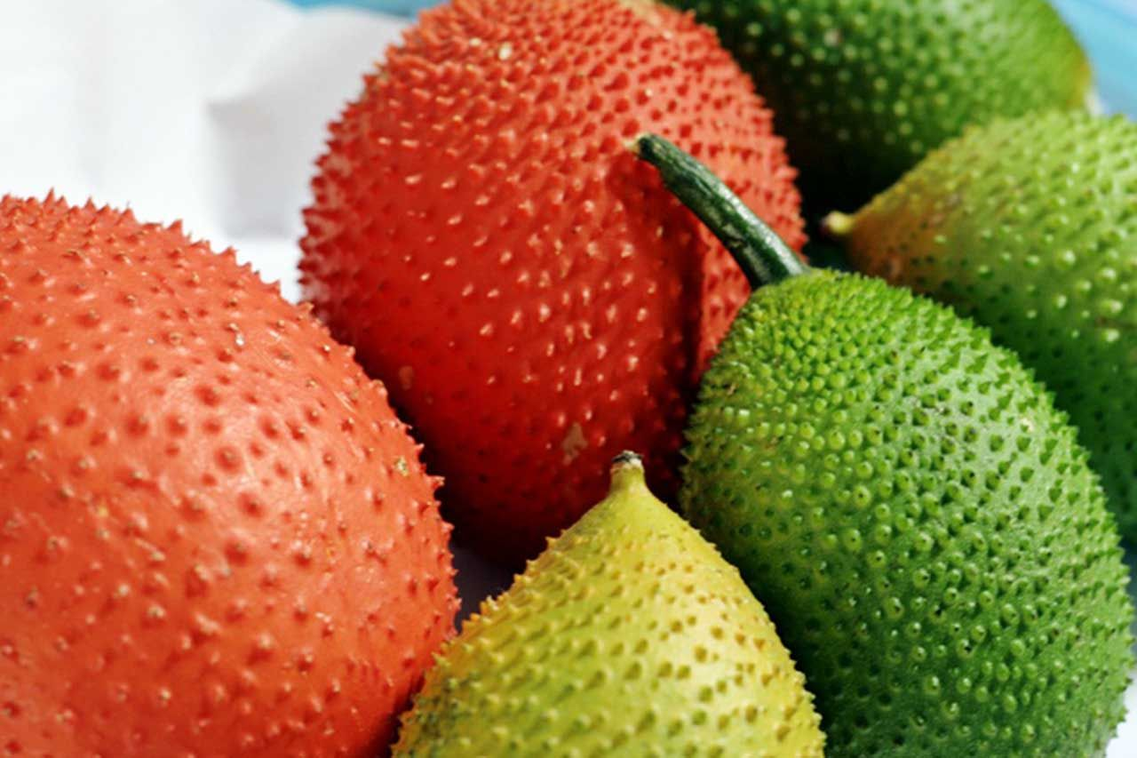 Gac Fruit 1 Small Strong Antioxidant Rich Superfruit Fruit Health Benefits Fruit Effective Diet