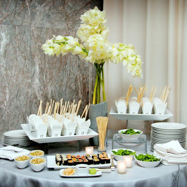 Wedding Food Stations Menu: The Knot - Your Personal Wedding Planner