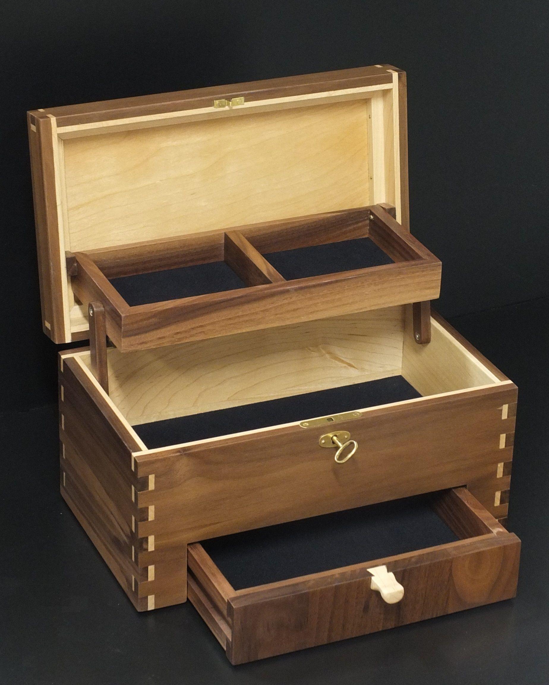 Jewelery Box Designs : jewelery, designs, Handmade, Jewelrybox, Lennart, Boersma, Jewelry, Plans,, Wooden, Designs
