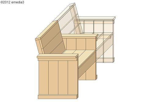 DIY-Bauanleitung für einen Sessel oder eine Sitzbank aus Holz für - sitzbank aus holz selber bauen