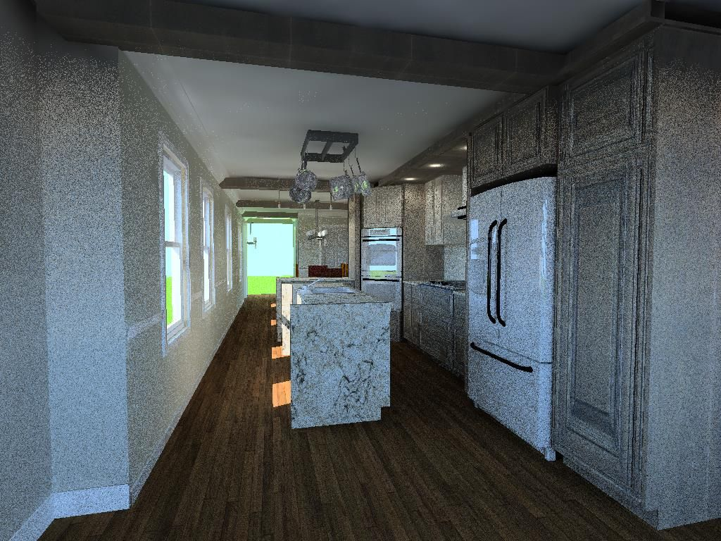 My Kitchen Layout Design From The Back Couch Perspective  Kitchen Enchanting Design My Kitchen Layout 2018