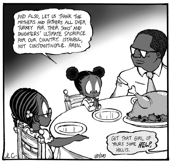 Anecdote Comic Strip, November 28, 2013     on GoComics.com