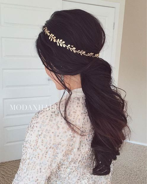 28 Trendy Wedding Hairstyles for Chic Brides