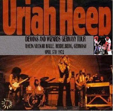 URIAH HEEP - Demons & Wizards Germany Tour 1972