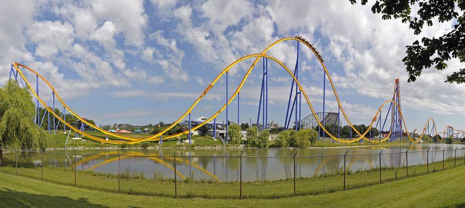 Behemoth Roller Coaster Canadas Wonderland Google Search