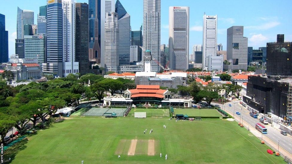 The world's best cricket grounds? Castles, cows and