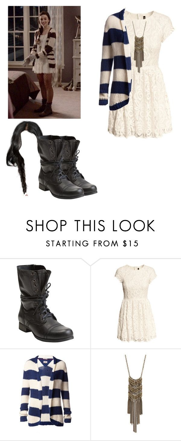 """""""Allison Argent - tw / teen wolf"""" by shadyannon ❤ liked on Polyvore featuring Steve Madden, H&M and Tommy Hilfiger"""