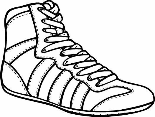 wrestling shoes clipart wrestling pinterest wrestling shoes rh pinterest com High School Wrestling Clip Art Wrestling Mat Clip Art