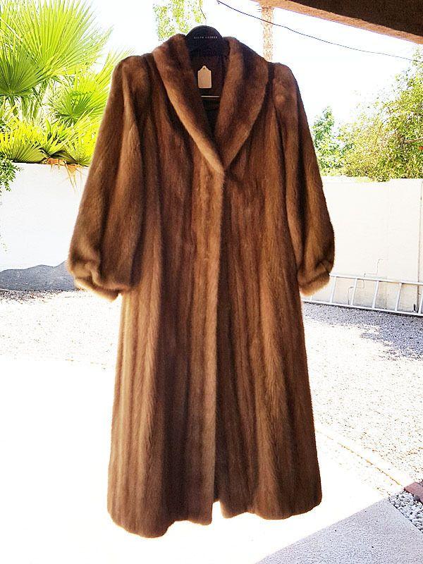 677cbd3c0 Safuron Women's Ladie's Long Mink Fur Coat   Women's Clothing   Fur ...