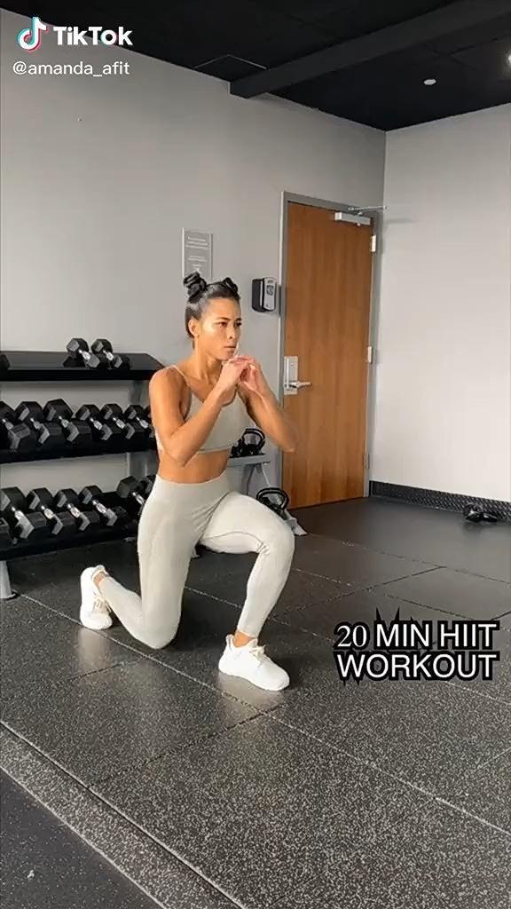 Fat burning lower body HIIT workout #hiit #hiitworkout #fullbodyworkouts #exercisefitness