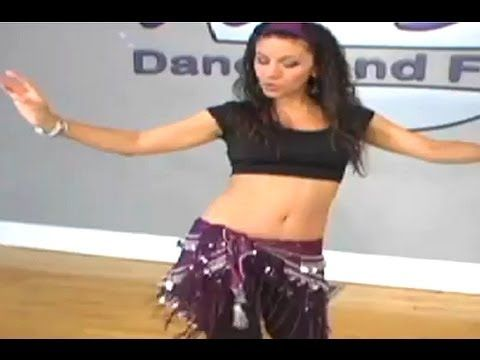 Learning K Step in Belly Dancing - Women's Fitness