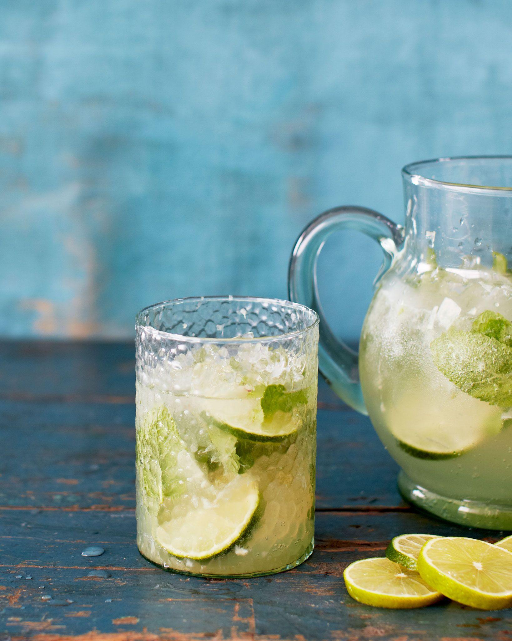 Bill Granger Recipe Lime Elderflower And Gin Cocktail Gin Cocktails Citrus Cocktails Gin Elderflower Cocktail
