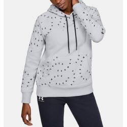 Photo of Women's Ua Rival fleece hoodie with Under Armor print