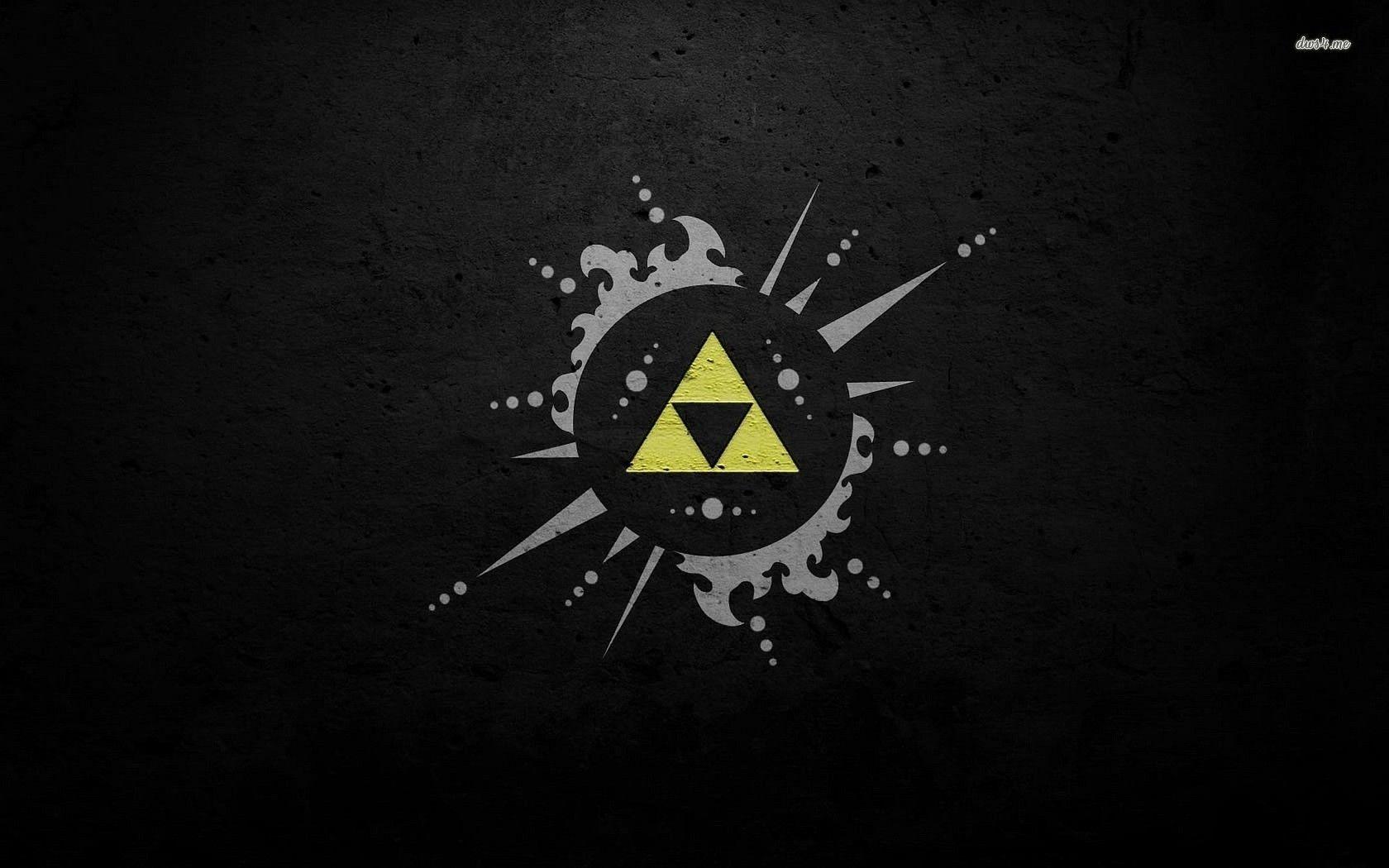 Triforce The Legend Of Zelda HD Desktop Wallpaper : High