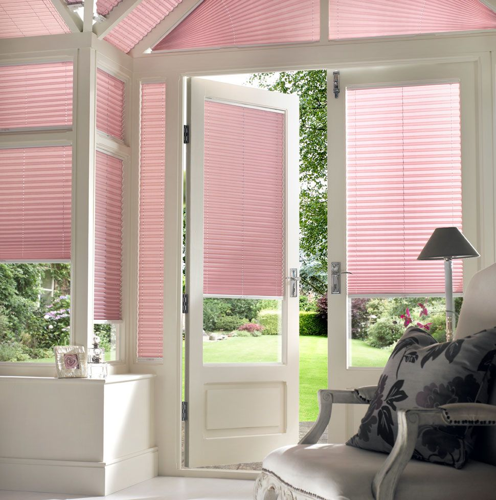 Our Pleated Conservatory Blinds Are All Handcrafted In Britain To