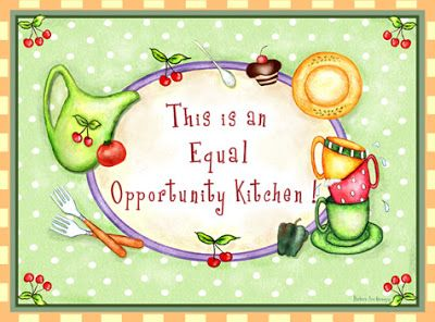 Ilustrações de Barbara Ann Kenney/Cozinha