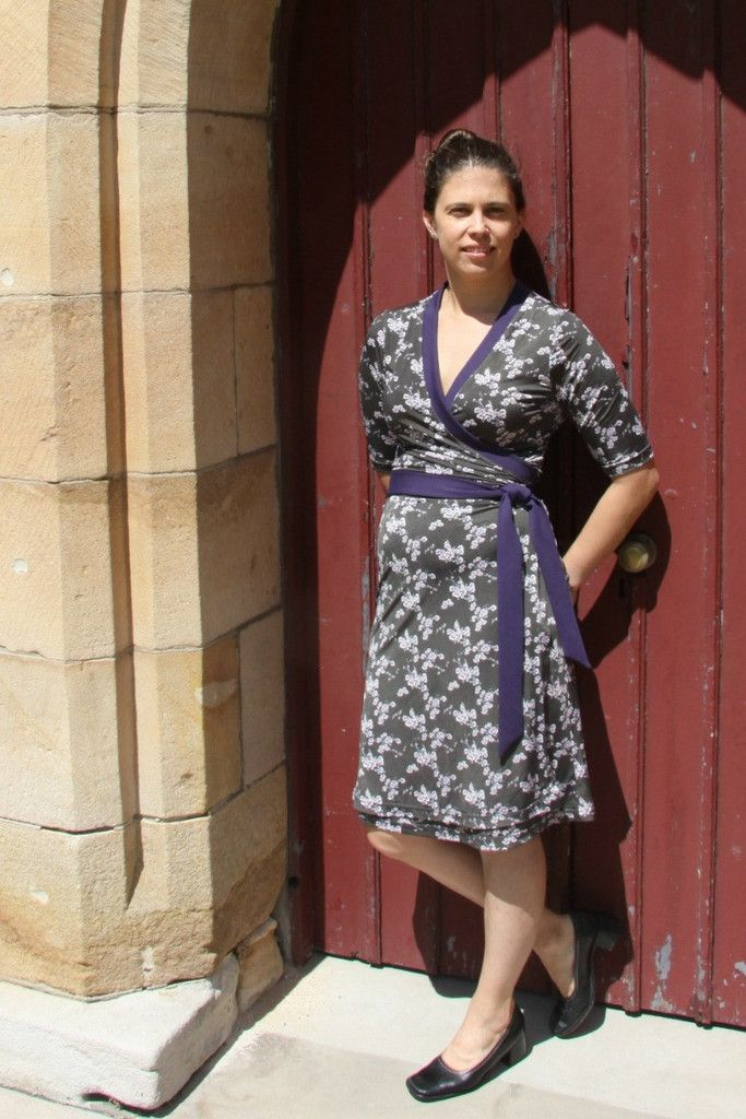 Diana Wrap Dress Sewing pattern