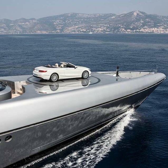 Mercedes Benz S500 Parking Monaco Instafun By