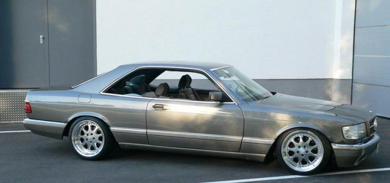 Mercedes Benz 500sec W126 Dont See Many Of These Around