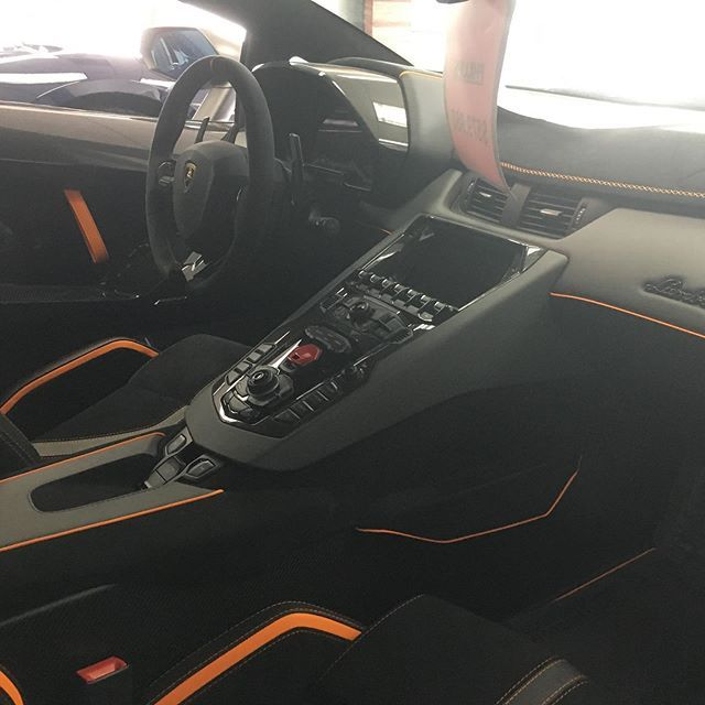 The Lamborghini Aventador SVJ Interior Is Insane