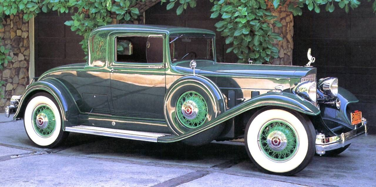1932 Packard 3-Window Coupe - (Packard Motor Car Company Detroit ...