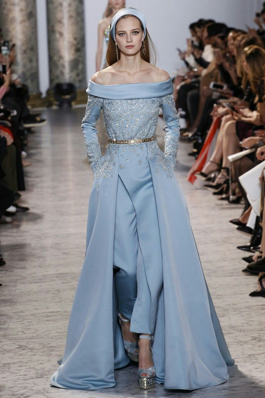 Best dressed from Elie Saab Haute Couture Spring 2017 | Spring ...