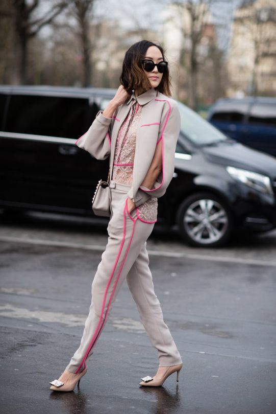 Street style from Paris haute couture spring 16