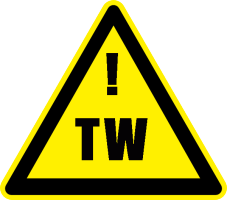 When you see this symbol, it means Trigger Warning -- *one* of the ways that mental health writers warn readers to use their minds to overcome knee-jerk reactions from their brains -- like on Pride in Madness