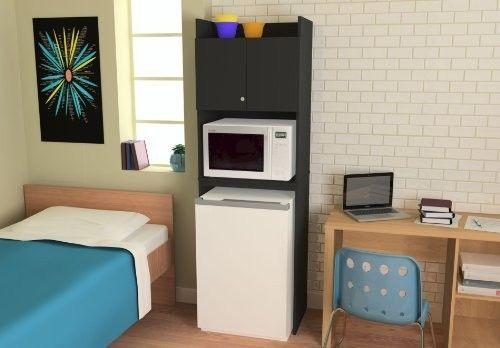 114 Mini Fridge Cabinet Microwave Stand Cooler Food Storage Holder Dorm Office Room Ameriwood