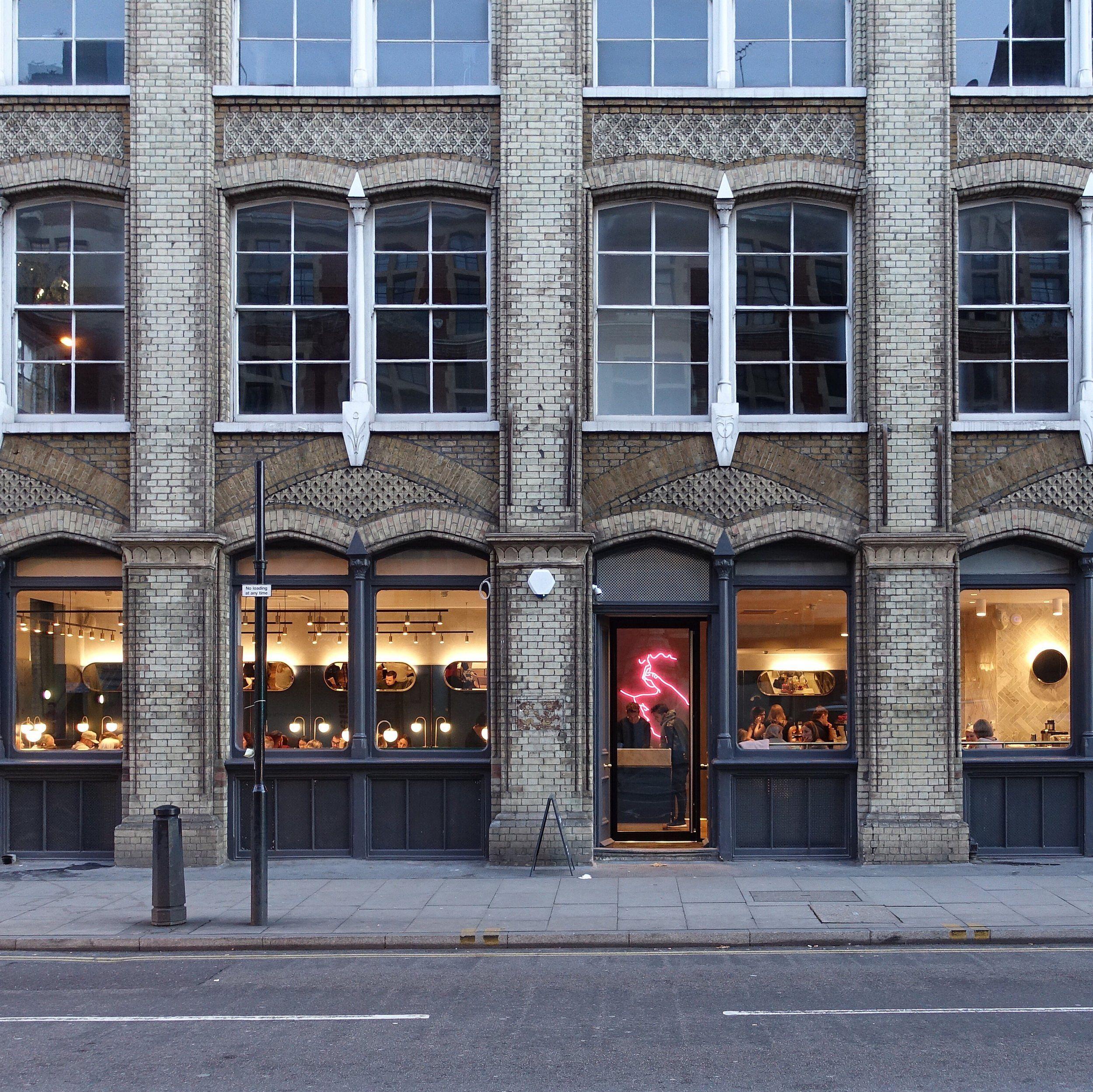 Clerkenwell grind house styles restaurant design