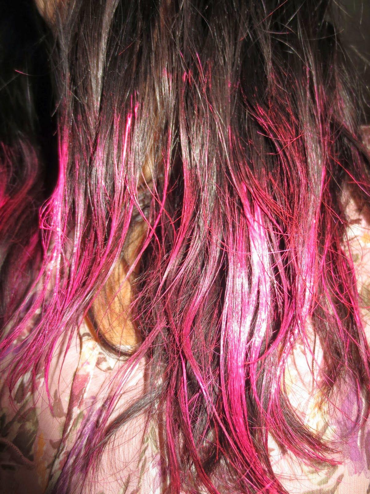 Splat Washables Hot 4 Pink Splat Hair Dye Pink Dye My Hair
