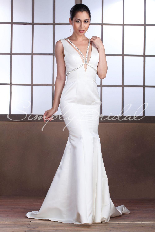 Cecilia Gown Wedding Dress Simply Bridal 270 (LA