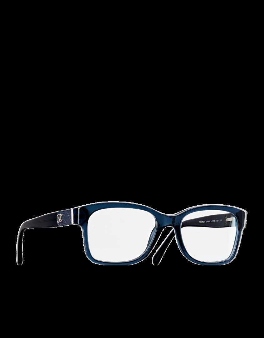 Square acetate eyeglasses with... - CHANEL   Fashion ...