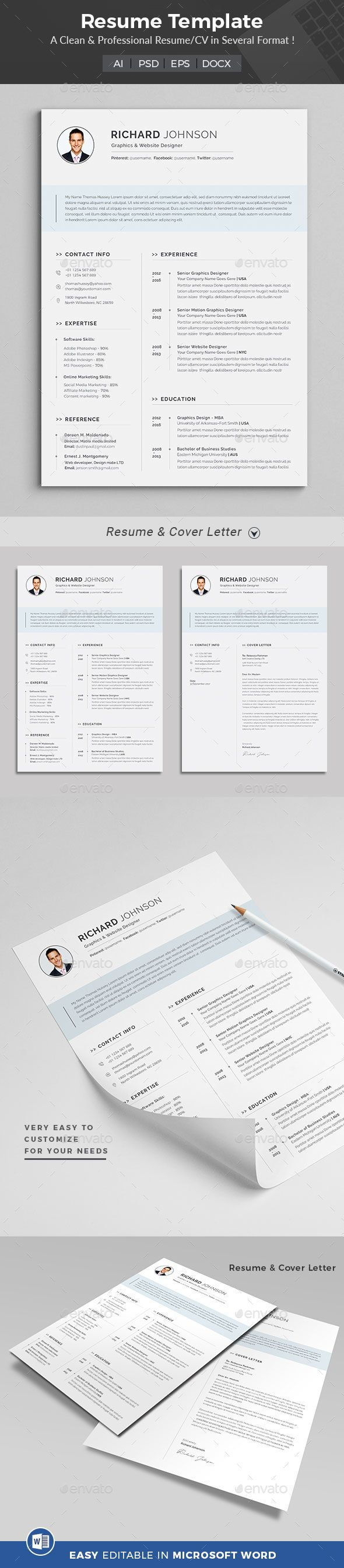 How To Make A Resume With Word Extraordinary Resume Word Template For Who Those Don'T Have Time To Create A .